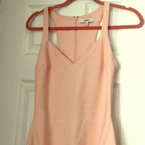 Likely Size 2 Light Pink Bodycon Dress